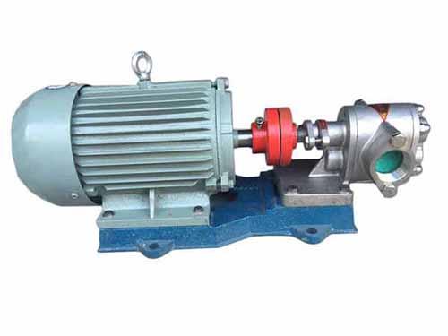 KCB不锈钢齿轮泵的选型注意事项