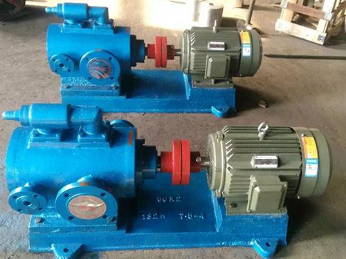 3QGB系列三螺杆泵如何选择电机转数